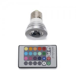 Color Changing LED light with remote