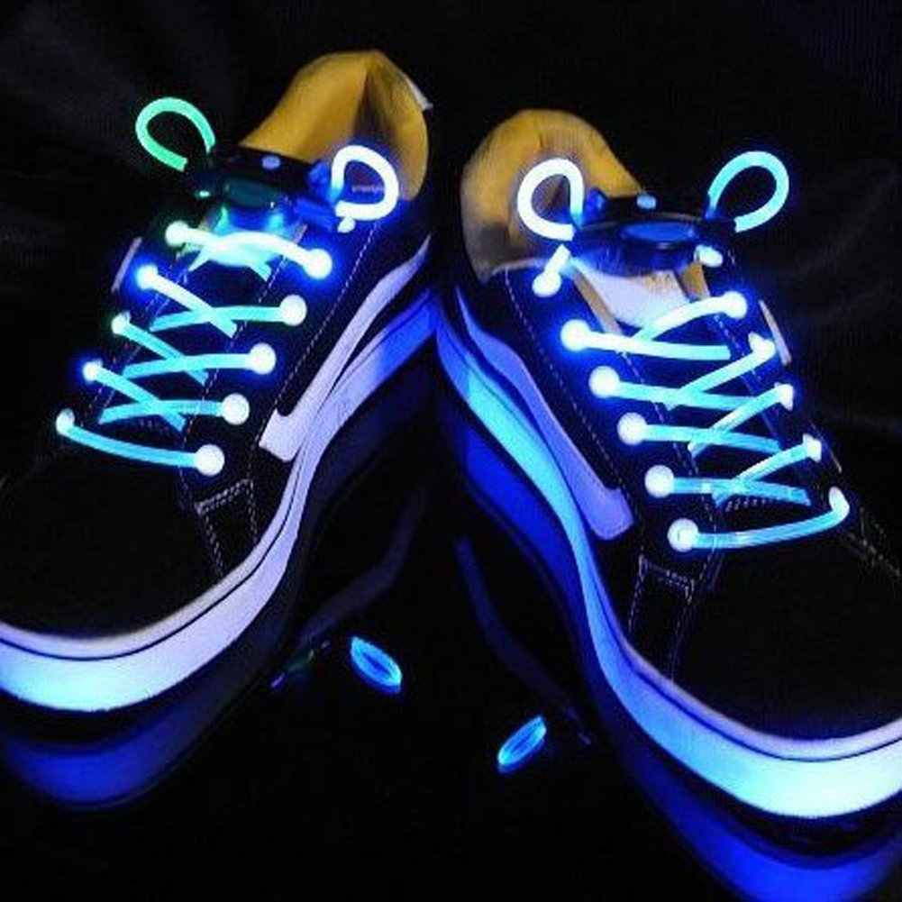 0fe29aeaf LED Shoelaces - Brighten someone s day for under 5 dollars