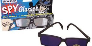 Spy Sunglasses Rearview Mirror