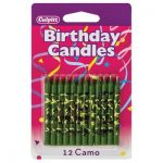 Camo Redneck Birthday Candles
